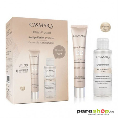 CASMARA DD CREAM NATURAL LIGHT SPF30 + EAU MICELLAIRE 100ML OFFERTE