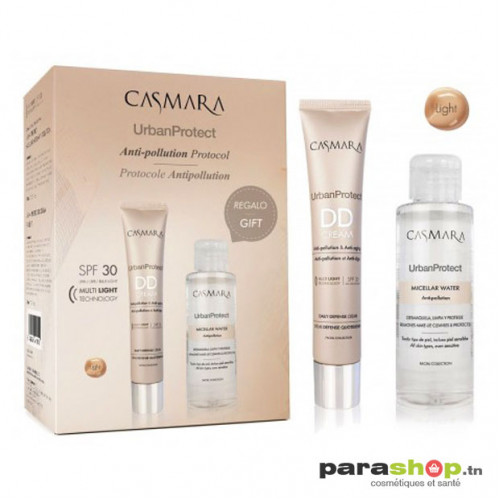 CASMARA DD CREAM LIGHT SPF30 + EAU MICELLAIRE 100ML OFFERTE