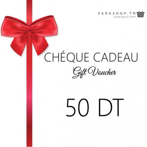 Chéque cadeau Parashop 50DT