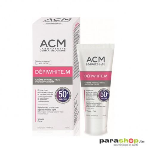 DÉPIWHITE M SPF50+ CRÈME PROTECTRICE INVISIBLE 40ML