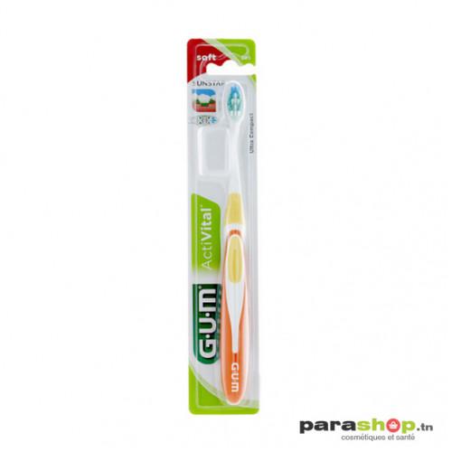 Gum Activital Brosse à Dents Ultra Compacte Souple 585