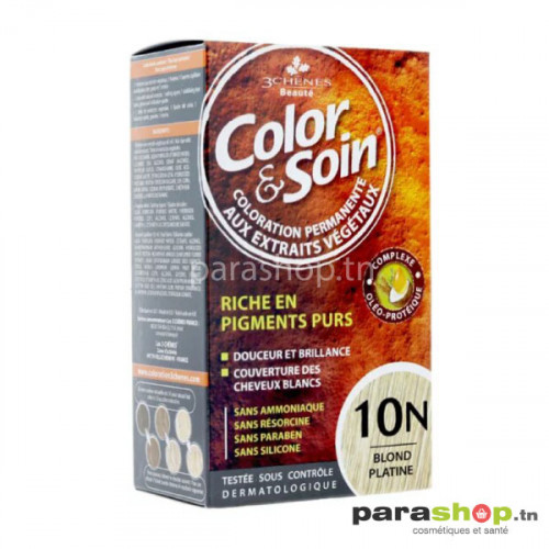 3 CHÊNES COLOR & SOIN COLORATION - 10N BLOND PLATINE