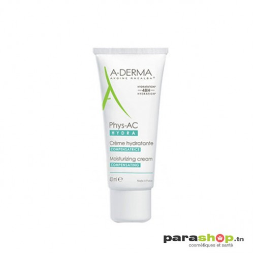 ADERMA Phys-AC Hydra Crème hydratante Compensatrice 40ML