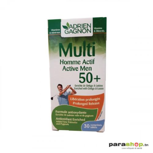 ADRIEN GAGNON MULTI HOMME ACTIF 50+