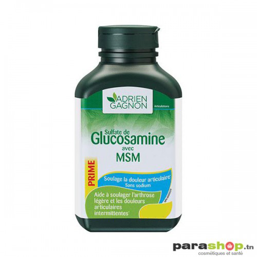 ADRIEN GAGNON GLUCOSAMINE AVEC MSM B/30