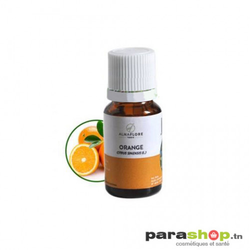 ALMAFLORE Huile Essentielle d'orange douce BIO 10ML