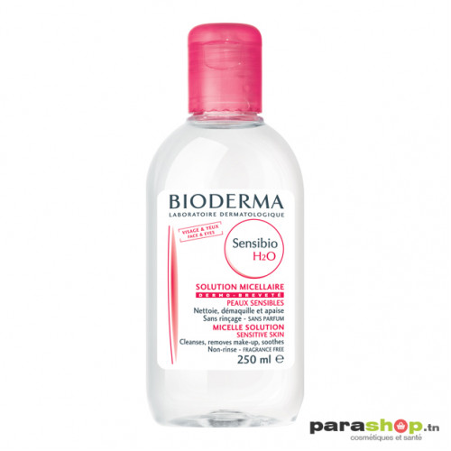 BIODERMA SENSIBIO H2O SOLUTION MICELLAIRE PEAUX SENSIBLES TRES SECHES 250ML