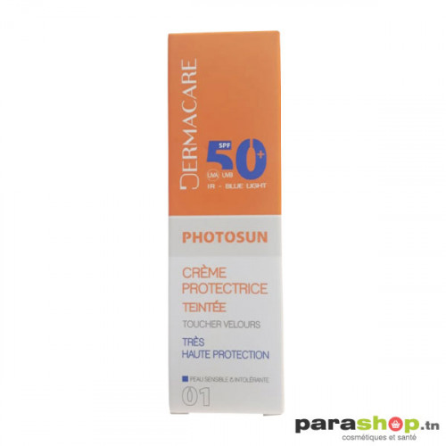 DERMACARE PHOTOSUN CRÈME Teinté PROTECTRICE SPF50+