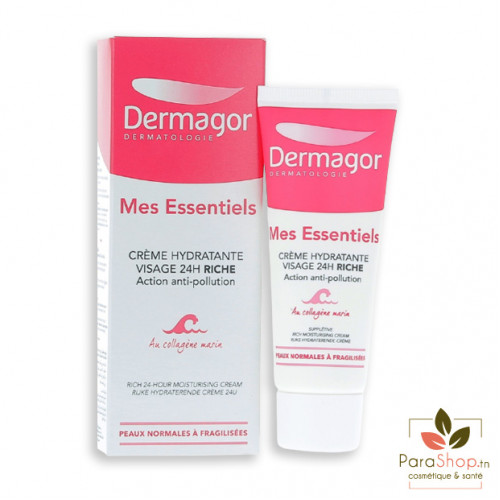 DERMAGOR MES ESSENTIELS - Crème Hydratante 24H Riche 40ML
