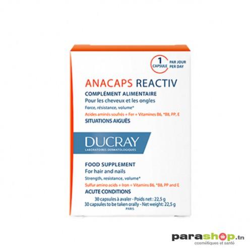 DUCRAY ANACAPS RÉACTIV 30 Gellules