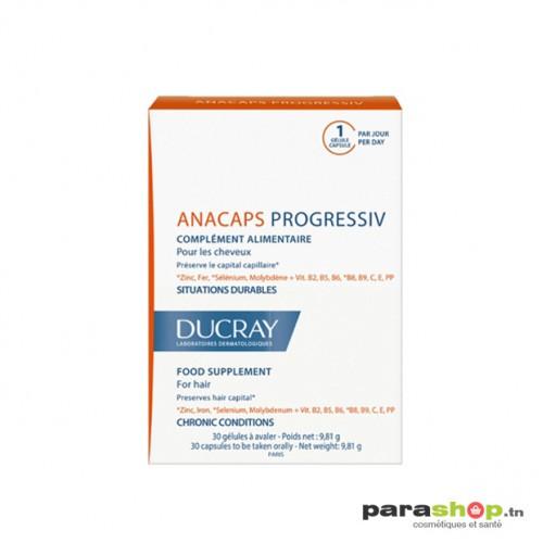 DUCRAY ANACAPS PROGRESSIV Complément alimentaire 30 GéLules