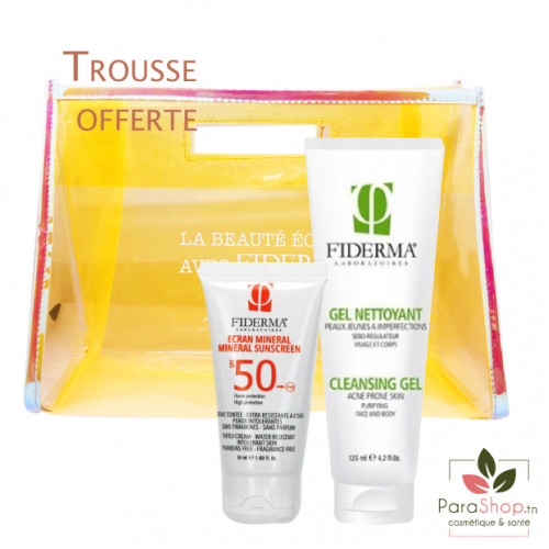 FIDERMA PACK PHOTOPROTECTION - Peau grasse