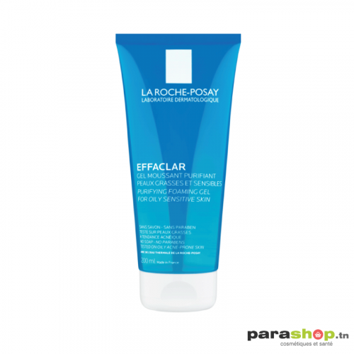 LA ROCHE-POSAY EFFACLAR GEL MOUSSANT PURIFIANT TUBE 200ML