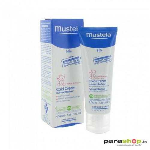 MUSTELA BEBE COLD CREAM NUTRI-PROTECTEUR 40 ML