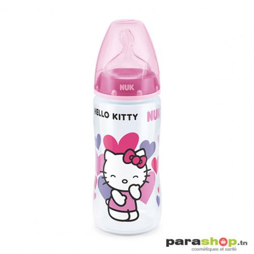 NUK Biberons incassables Hello Kitty, tétine silicone 12M+