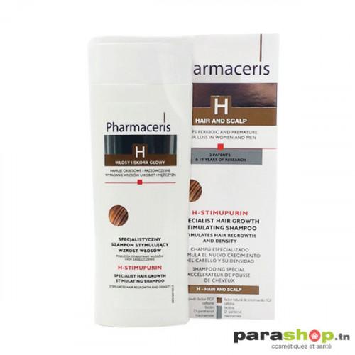 PHARMACERIS SHAMPOOING ACCÉLÉRATEUR DE POUSSE H-STIMUPURIN 250ML
