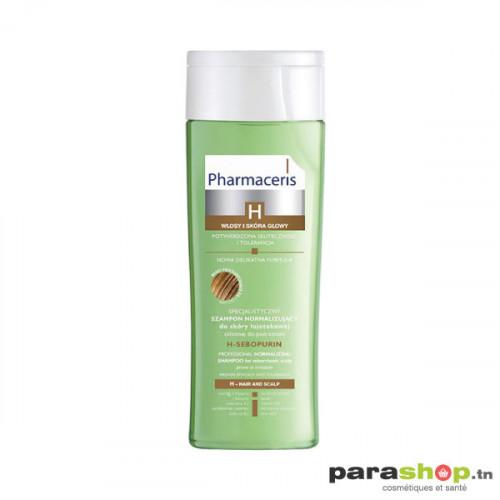 PHARMACERIS SHAMPOOING H-SEBOPURIN CHEVEUX GRAS