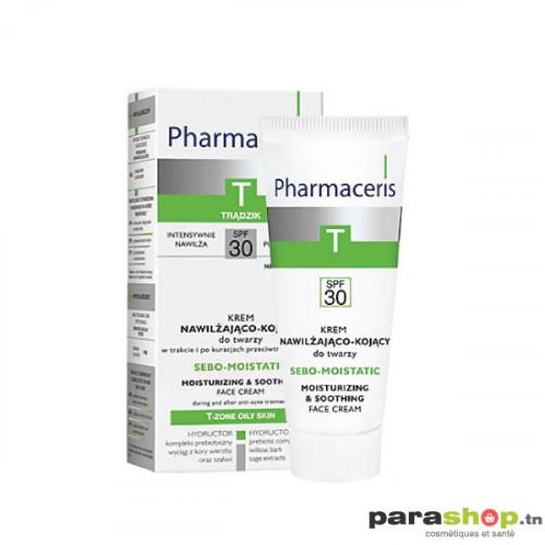 Pharmaceris T CRÈME VISAGE HYDRATANTE ET APAISANTE SPF30