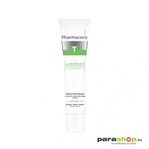 PHARMACERIS T CRÈME DE NUIT pureRETINOL 0.3 ANTI-ACNE 40ML