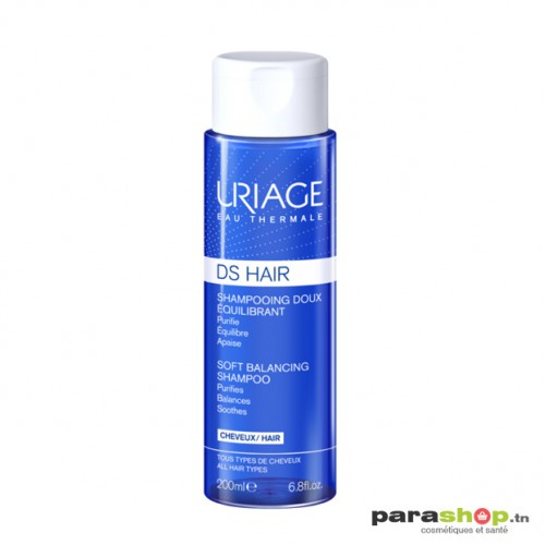 URIAGE DS HAIR - SHAMPOOING DOUX ÉQUILIBRANT 200ML