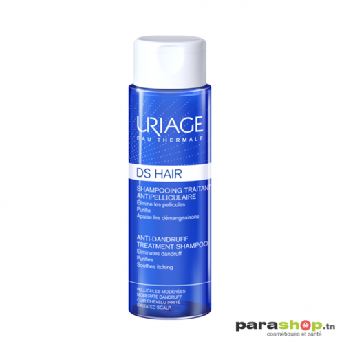 URIAGE DS HAIR - SHAMPOOING TRAITANT ANTIPELLICULAIRE 200ML